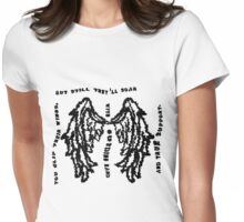 But Still They'll Soar Womens Fitted T-Shirt