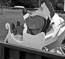Last Ride For Claus  by Paul Lubaczewski