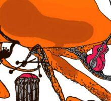 Playful Octopus Sticker