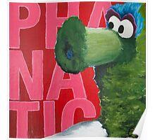 Philadelphia Phanatic Painting Poster