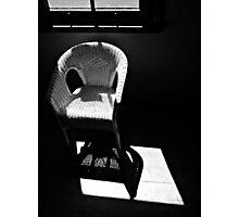 Chair study 2 Photographic Print