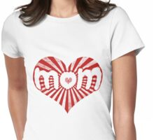 Mom love Womens Fitted T-Shirt