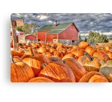Pumpkin Season Canvas Print