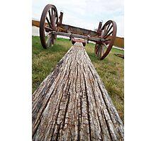 Long Look at a Wagon Cut Short Photographic Print