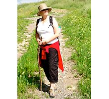 Tuscany trek Photographic Print