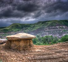 HooDoo in Drumheller by Myron Watamaniuk