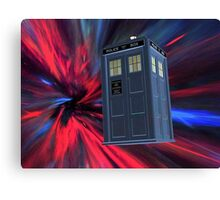 Tardis of the 3rd and 4th Canvas Print
