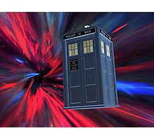 Tardis of the 3rd and 4th Photographic Print