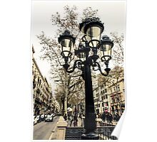 barcelona, La Rambla  Poster