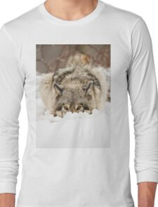 Whose The Pretty Puppy? Long Sleeve T-Shirt