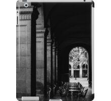 Barcelona, Plaza Real  iPad Case/Skin