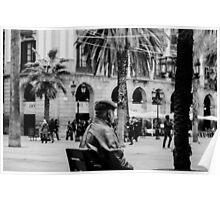 Barcelona, Plaza Real  Poster