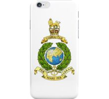 The Corps of Royal Marines Logo iPhone Case/Skin