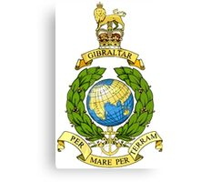 The Corps of Royal Marines Logo Canvas Print