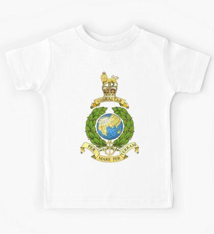 The Corps of Royal Marines Logo Kids Tee