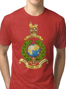 The Corps of Royal Marines Logo Tri-blend T-Shirt