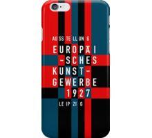 EUROPÄISCHES KUNSTGEWERBE 1927 iPhone Case/Skin