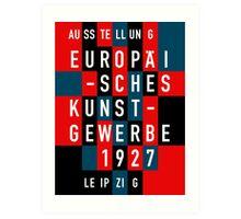 EUROPÄISCHES KUNSTGEWERBE 1927 Art Print