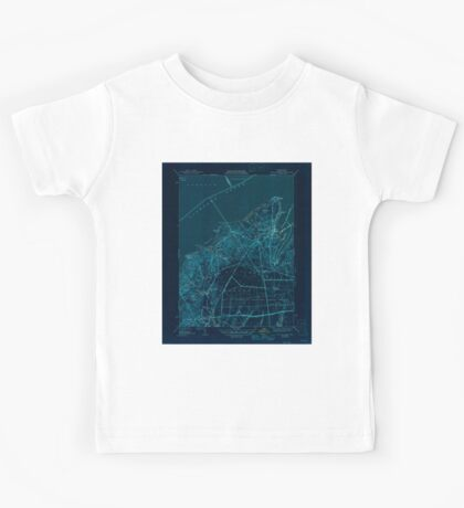 Massachusetts  USGS Historical Topo Map MA Vineyard Haven 352285 1944 31680 Inverted Kids Tee