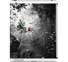 Pulled Down at 2000 Metres Per Second  iPad Case/Skin