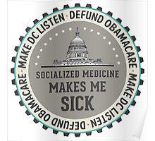 Defund Obamacare Poster