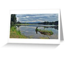 Yarrumundi  Riverside Reserve Greeting Card