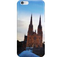 Cathedral at dusk iPhone Case/Skin
