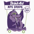 Ape Grape by superiorgraphix