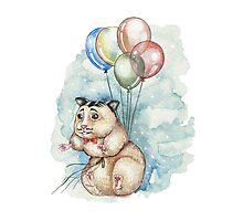 Hamster Hoze Photographic Print