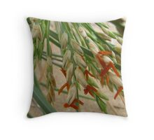 spinifex blossoms Throw Pillow