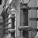 Ornate Lamp Posts in San Francisco by Buckwhite
