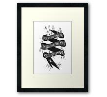 Joker Suicide Squad  Framed Print