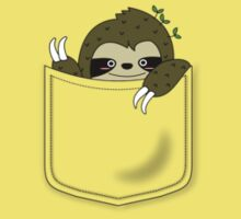 sloth in my pocket One Piece - Short Sleeve