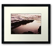 Twighlight Water Framed Print