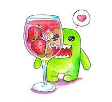 Domo Loves Sangria! by Katie Clark