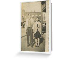Wade & Sandifer Estate / Billy MaGee 1943 Greeting Card