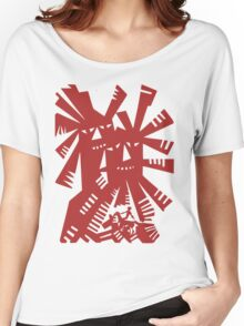 Quixote - Windmills and giants Women's Relaxed Fit T-Shirt