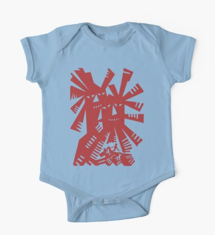 Quixote - Windmills and giants One Piece - Short Sleeve