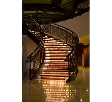 Stair Lights Photographic Print