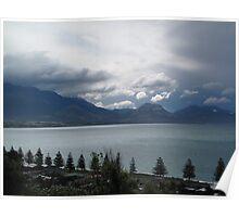 Kaikoura Sunset New Zealand NZ Poster