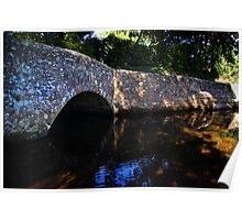 Dunster Bridge Poster