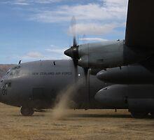 Wanaka Airshow New Zealand 2010 Hercules by ChellyIreland
