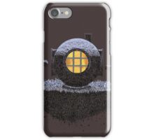 Floating Diver Home Sweet Home iPhone Case/Skin