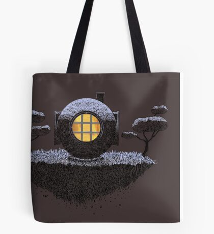 Floating Diver Home Sweet Home Tote Bag