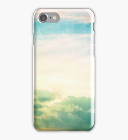 Pastel Abstract Sky iPhone Case/Skin