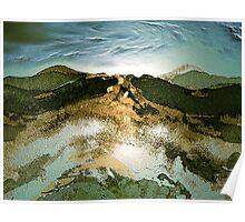 a sudden light... north alps Poster