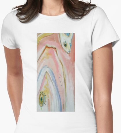 Love from Below Womens Fitted T-Shirt