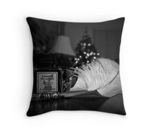 Quill & Ink - New Hobby Throw Pillow
