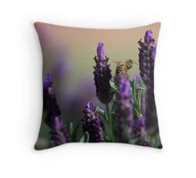 Lavender Spring Throw Pillow