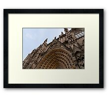 Barcelona - The Cathedral  Framed Print